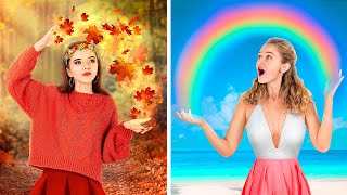 Autumn Girl vs Summer Girl! / What Type of Girl are You?