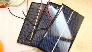 Солнечные мини панели 6В 1Вт  с Aliexpress(, 2016-08-02T11:01:36.000Z)