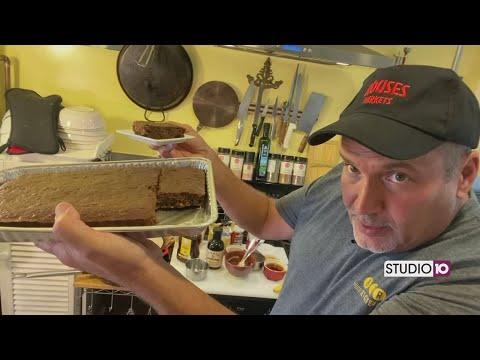 Chocolate Flax Seed Brownies