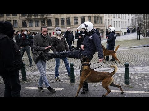 Bélgica, Austria, Países Bajos: las protestas contra las restricciones se suceden por toda Europa
