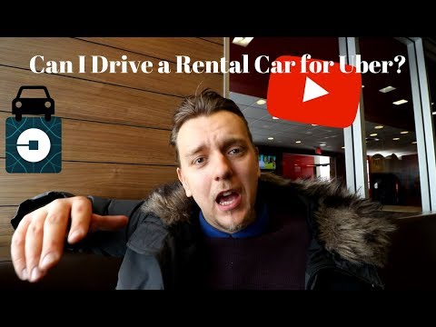 Can I Drive a Rental Car for Uber