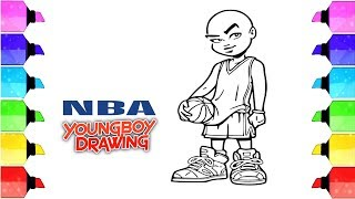 nba youngboy drawing - nba youngboy - drawing symbols - Drawing Extra
