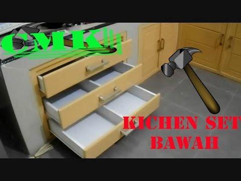 Membuat Kitchen Set Bawah Minimalis Dari kayu Foll Duko Murni
