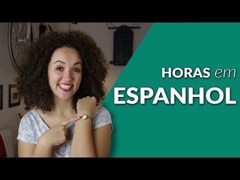 Como ver as Horas em Espanhol