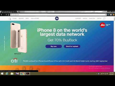 Jio Buyback Offer on Apple I phone | Reliance Jio