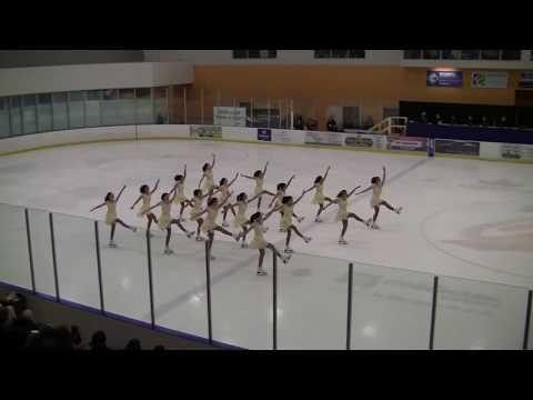 2018 Skate Ontario Regional Synchronized Skating Championships - - Sparkling Ice - Pre-Novice Free 2