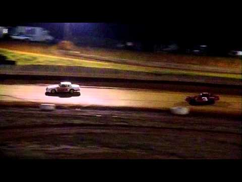 10-21-2011 Pure Stock V8 Main Cleveland County Speedway