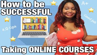 How to be SUCCESSFUL taking ONLINE COURSES 💻 | 2020 | SimplyLay