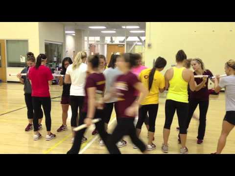 Gopher Women's Gymnastics - Team Building Activities With J.U.M.P. Performance