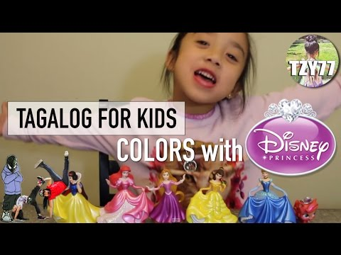 Learn COLORS (KULAY) in Tagalog (Filipino) Part 1 | Tagalog for Kids