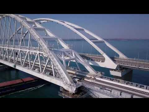 travelcrimea: Вид на Крымский мост с коптера