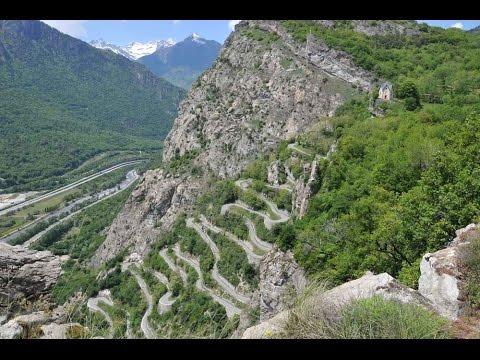 Tour de France 2015 Lacets de Montvernier