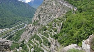 Tour de France 2015 Lacets de Montvernier