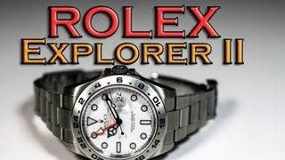 Rolex Explorer II   42mm   Ref 216570