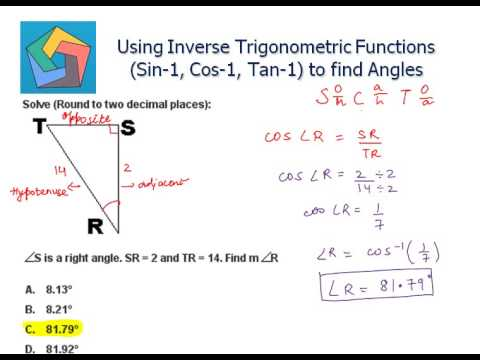 how to make a trigonometric function