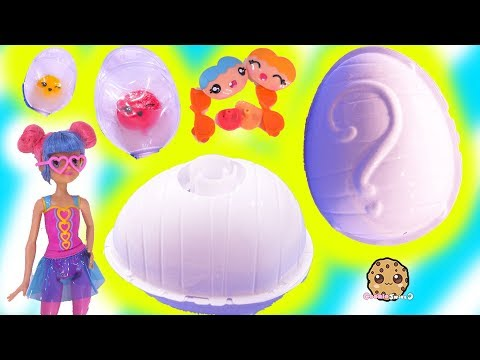 Surprise Egg Blind Bags ! Smooshins Squishy Kawaii Dolls DIY Toy Maker