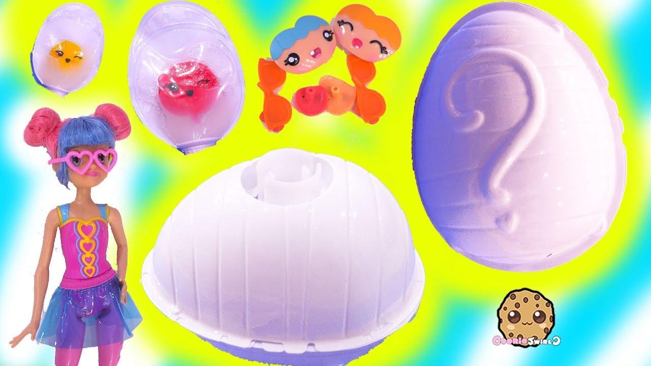 Surprise Egg Blind Bags ! Smooshins Squishy Kawaii Dolls DIY Toy Maker - YouTube