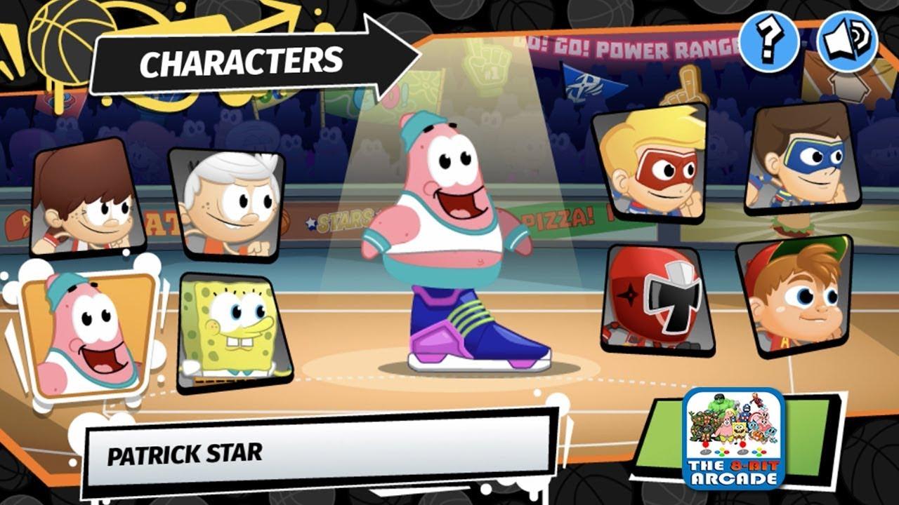 Nickelodeon Basketball Stars 3 - Patrick in the Nick Basketball Finals  (Nickelodeon Games)