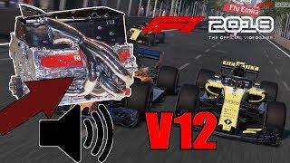 F1 2018 Jak zmienić dźwięk silnika