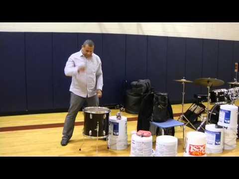 2015 Reiffton School A.I.R. Taiko Drum Rhythm with Leon Jordan