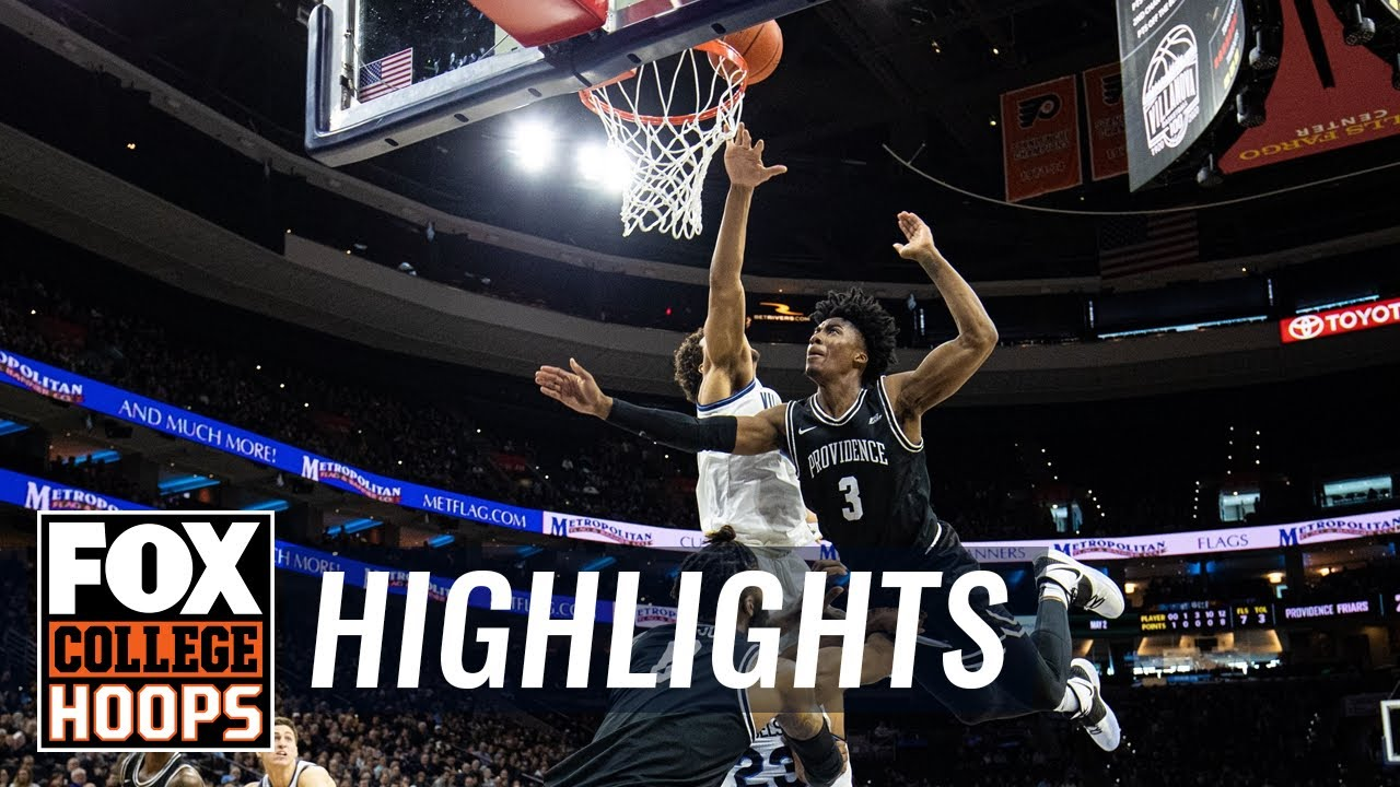Providence notches fifth straight ranked win, tops No. 12 Villanova | FOX COLLEGE HOOPS HIGHLIGHTS