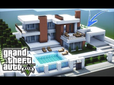 Minecraft cidade moderna casa mobiliada 04 asurekazani for Casa moderna minecraft pe 0 10 5