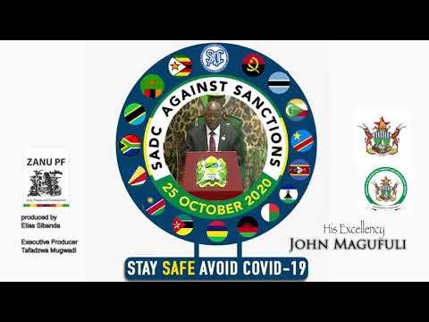 His Excellency President J Magufuli against Zimbabwe Sanctions