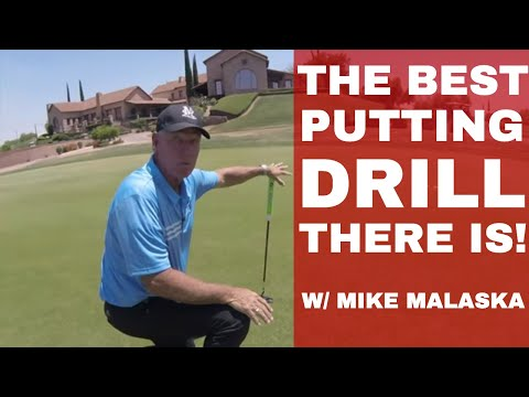THE SINGLE BEST PUTTING Drill & HOW to read greens MIKE MALASKA, PGA on Be Better Golf
