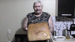 Быстрый, простой хлеб без дрожжей из цельнозерновой муки на рассоле.