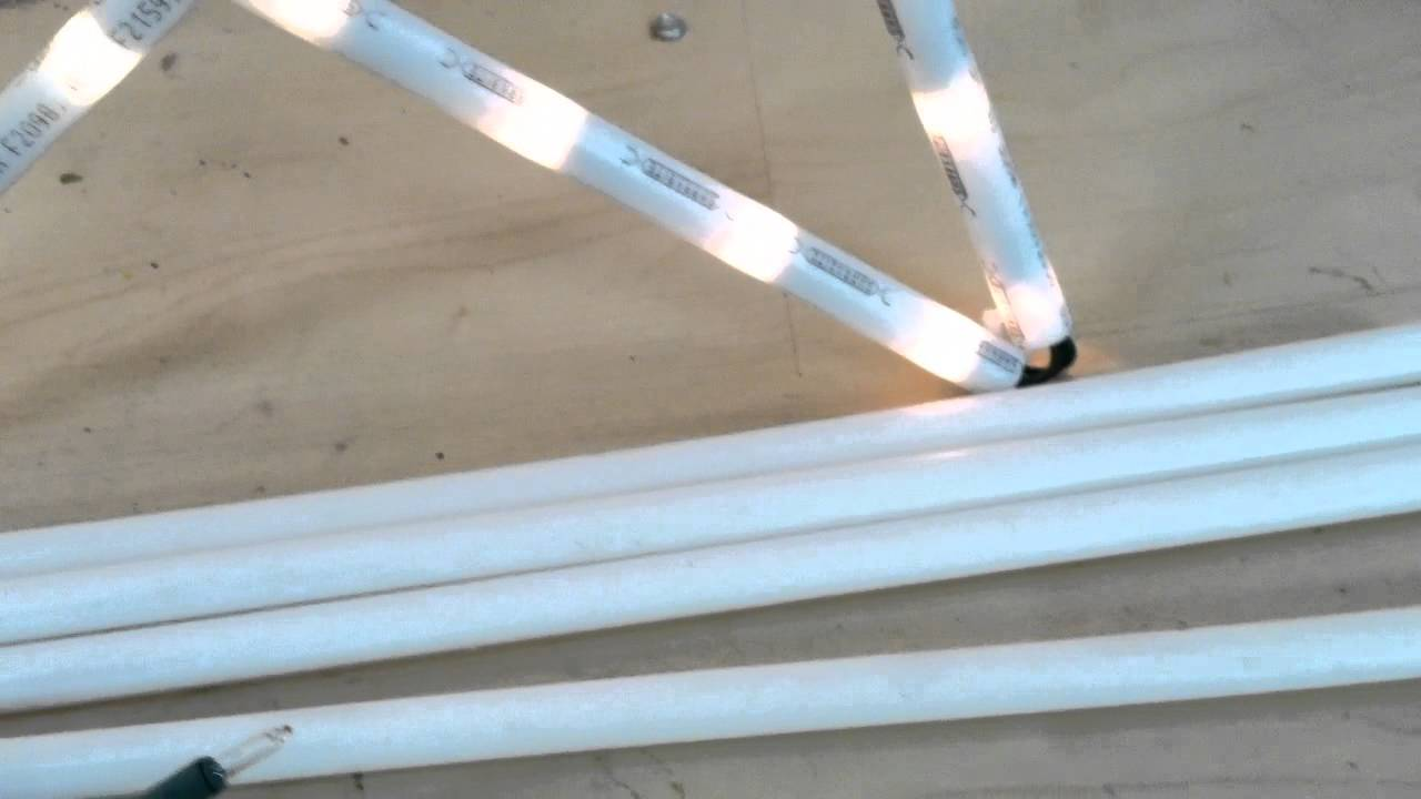 how to get christmas lights to stay on tiles