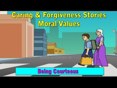 Being Courteous | Moral Values For Kids | Moral Stories For Children HD