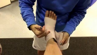 Lower Extremity Tapes and Wraps: foot and ankle compression wrap