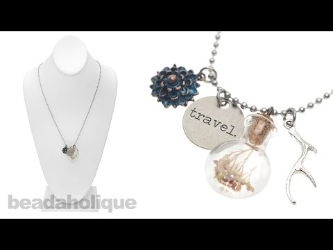 How to Make the Found Objects Necklace