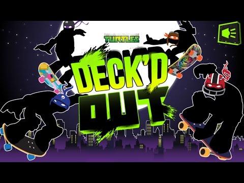 Черепашки Ниндзя на Скейте (Deckd Out)