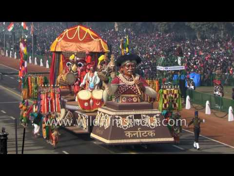 Republic Day 2017 : Indian states display their tableaux or Jhanki