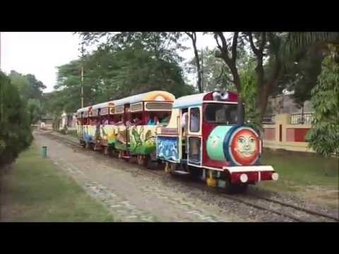 TOY TRAIN RIDE AT NARROW GAUGE RAIL MUSEUM, NAGPUR