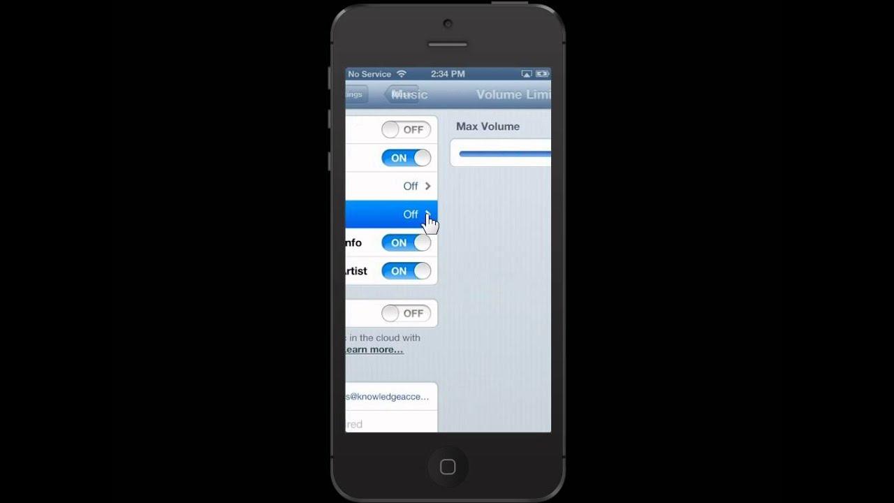 Iphone 6 voicemail volume - Apple Iphone 5 Adjust The Volume Limit