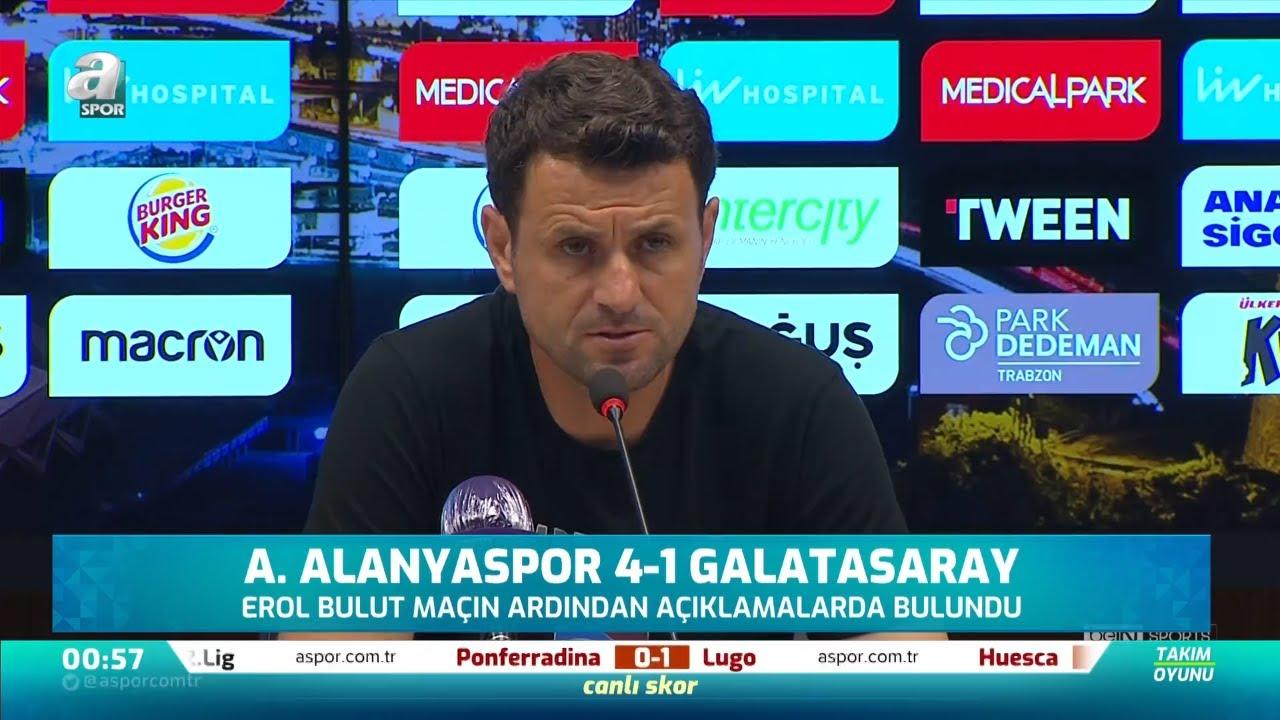 """Hüseyin Çimşir: """"Rakibin Dirençli Oyununa Cevap Veremedik"""" / Trabzonspor 2 -2 Antalyaspor Maç Sonu"""