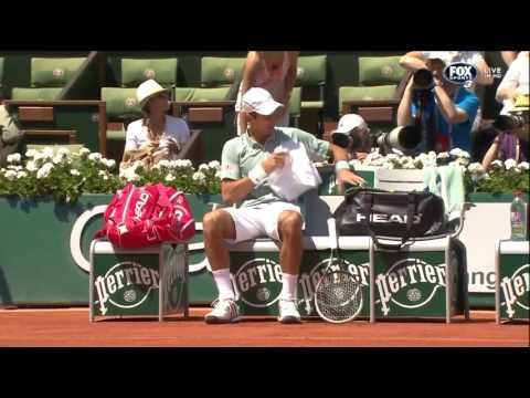 Roland Garros 2013 Men's Semi Final - Novak Djokovic vs Rafael Nadal