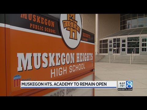 Muskegon Heights Academy to remain open