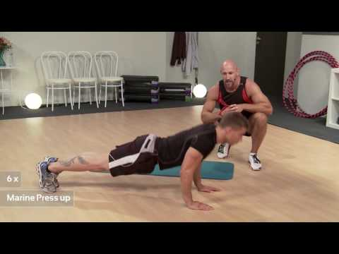 Upstairs Downstairs Workout with Patrick Dale (Fityess) in Full HD