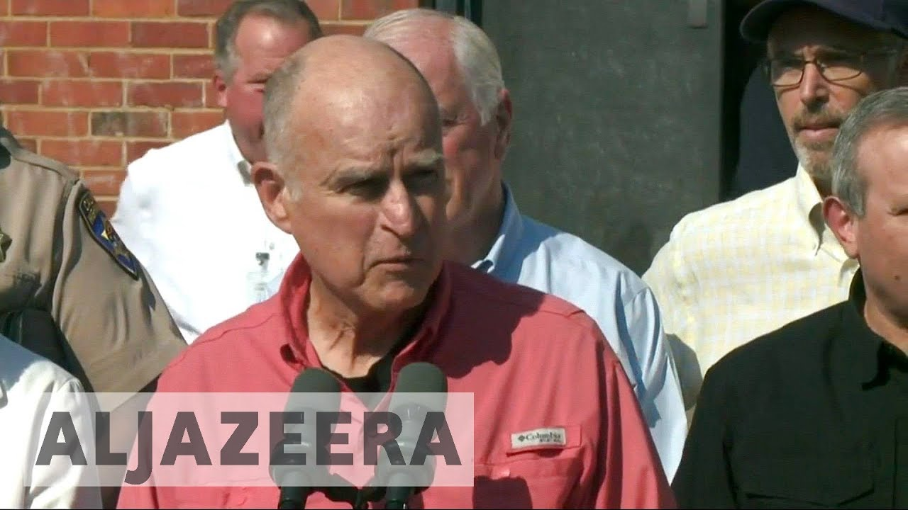 California wildfires one of 'greatest tragedies in state history': Gov. Brown
