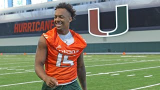 Miami Hurricanes' Jarren Williams on contributing to team: I'm going to 'give everything I got'
