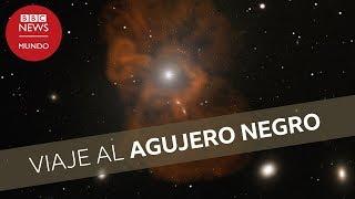 Viaje al agujero negro de Messier 87 desde la Tierra