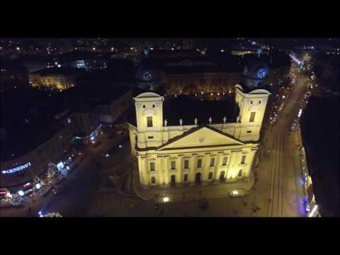 Debrecen Karácsony főtéren 2016