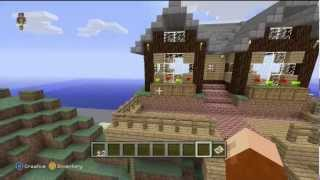 Minecraft Creative Mode with SurgeHunter [Part 1] - Building Foundations and Problematic Flying