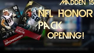 Madden 15 Ultimate Team 24 Hour Rob Gronkowski and Thomas Davis Pack Opening!