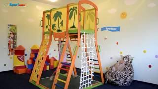 видео Детский спортивный уголок Кроша