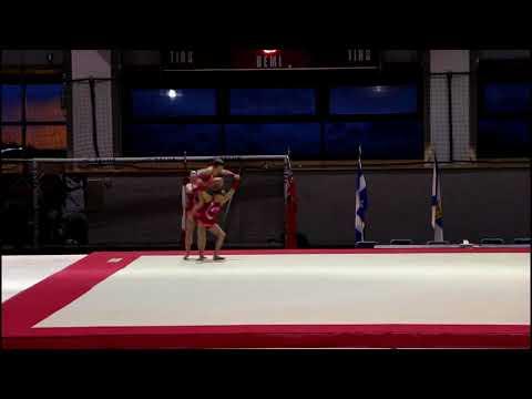Invitation Acro - Jana, Victoire et Marine - Stade Telus - Québec Performance