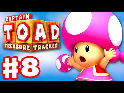 Captain Toad: Treasure Tracker - Gameplay Walkthrough Part 8 - Operation Rescue Captain Toad! 100%